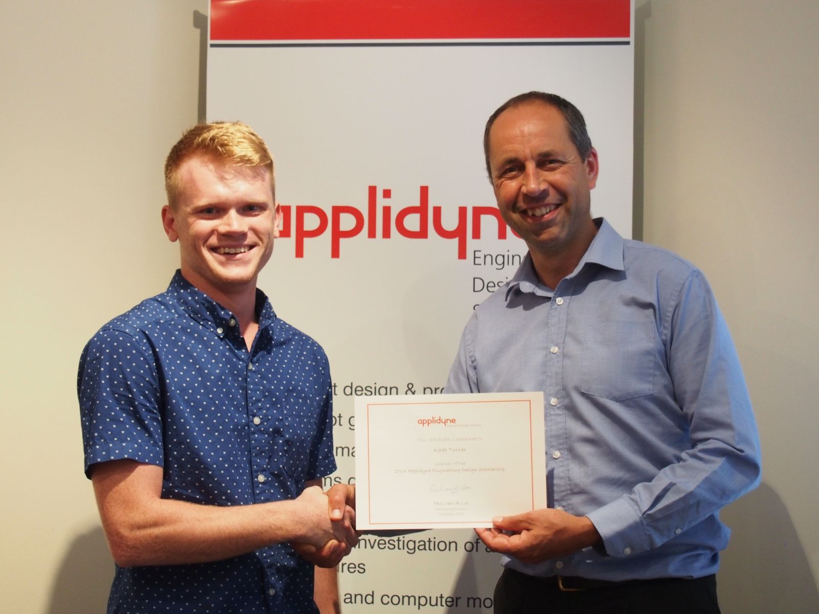 2014 Scholarship Awarded
