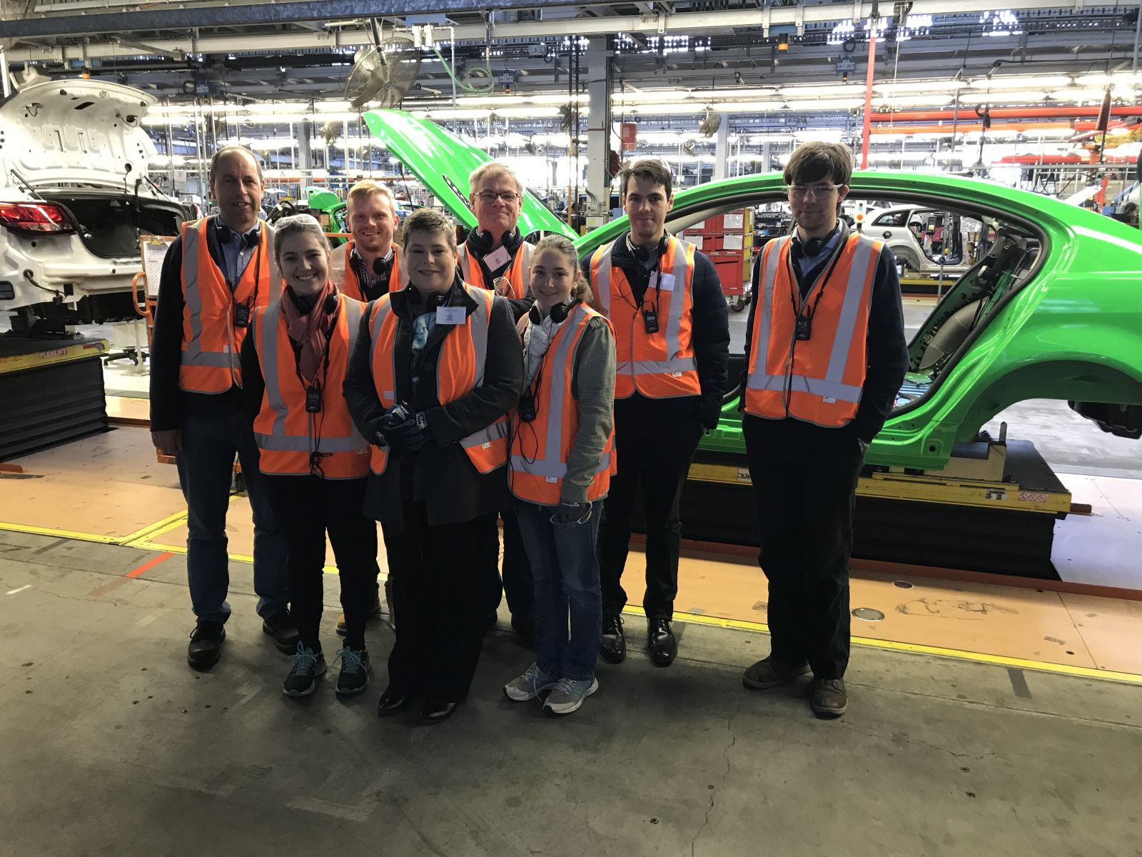 Applidyne tours Holden factory