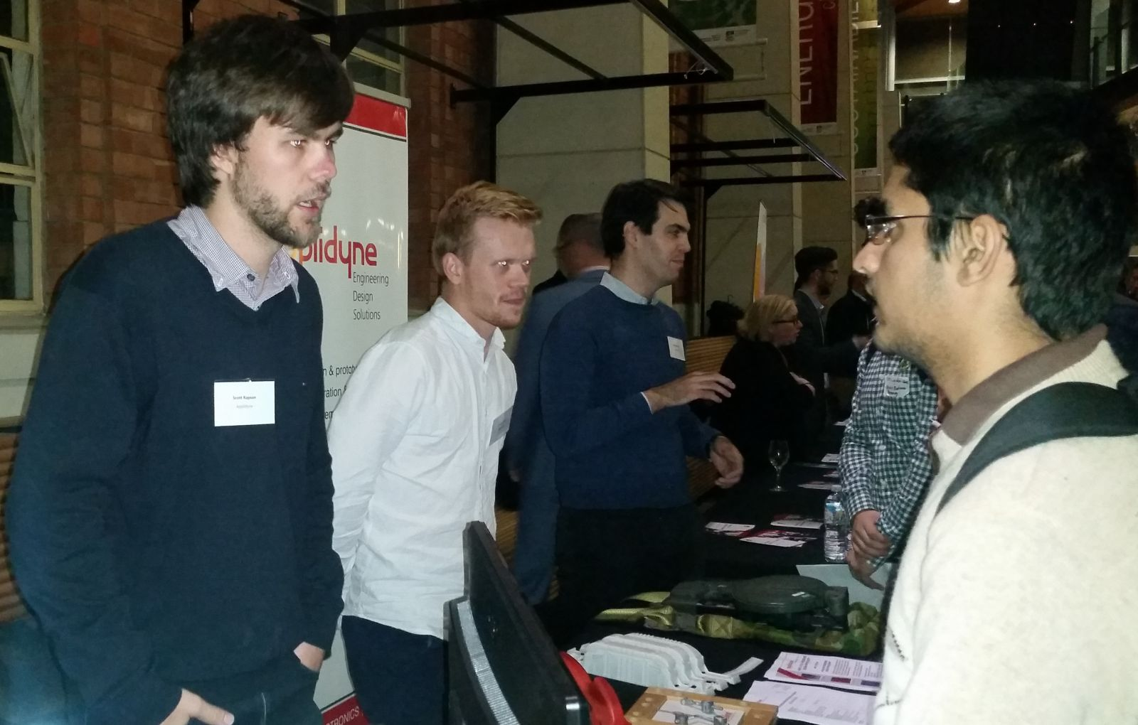 Applidyne attends Adelaide Uni Industry Night
