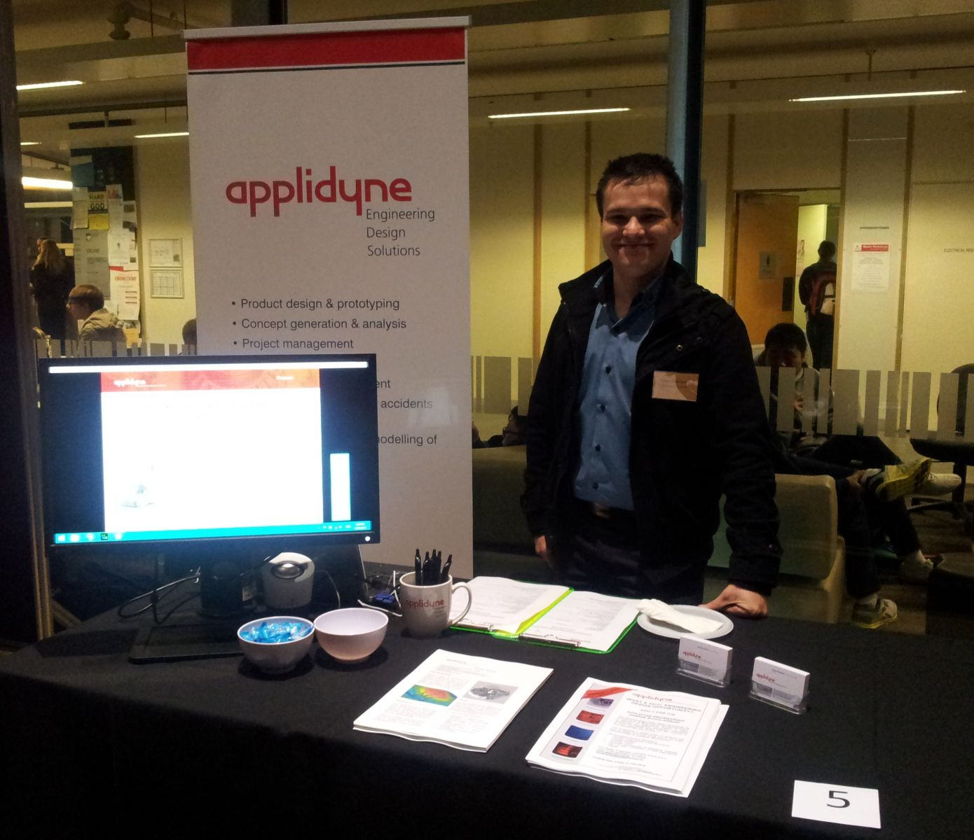 Applidyne attends Engineering Industry Night at Adelaide University