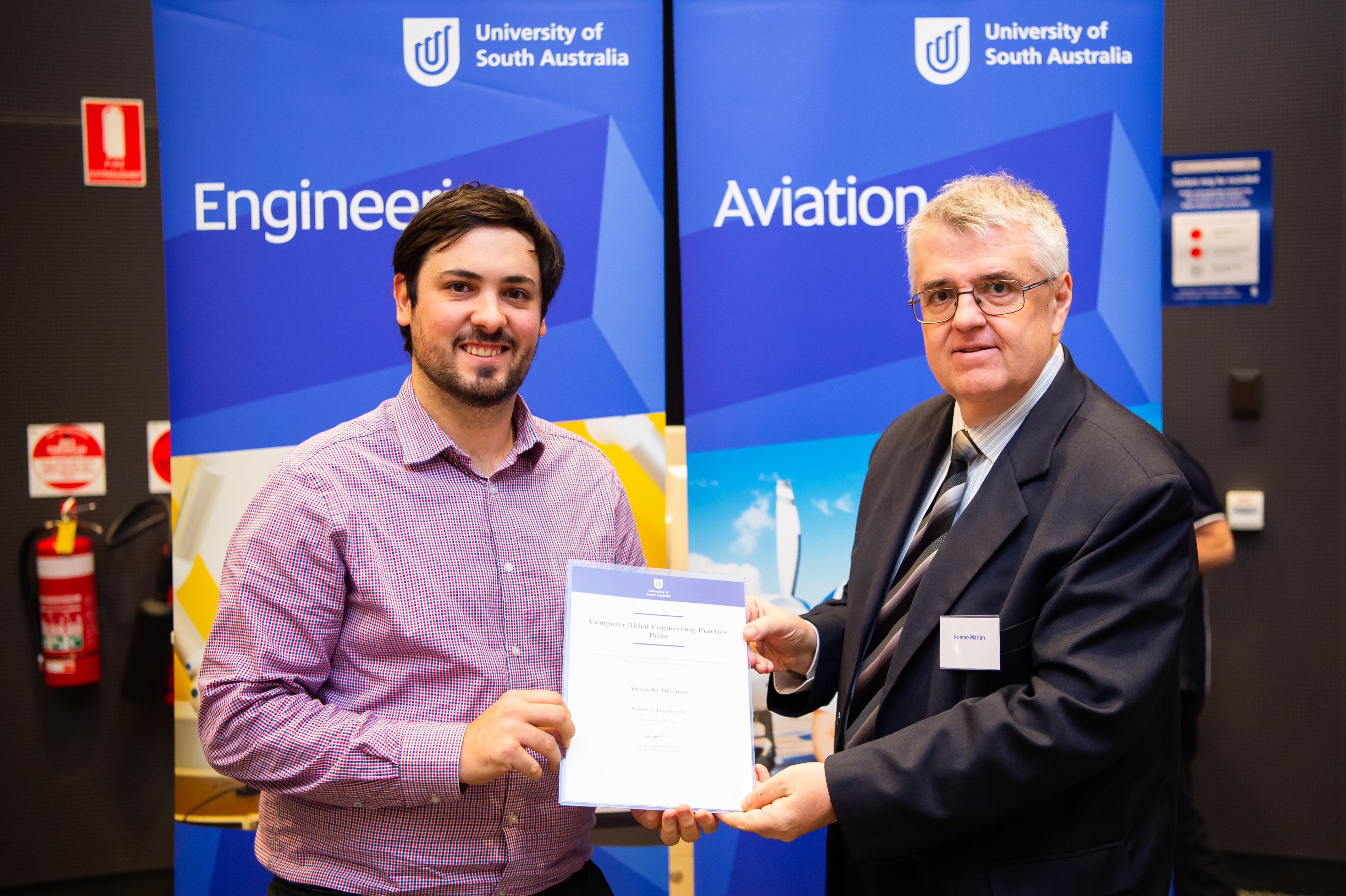Applidyne intern recipient of two awards at the UniSA 2018 Engineering Prizes and Awards Ceremony